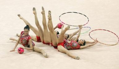 艺术体操图片_2011年全国艺术体操锦标赛在成都开赛高清