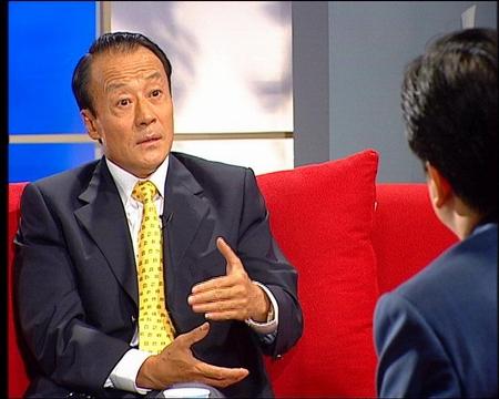 李富荣作客央视新闻会客厅 李富荣畅谈奥运