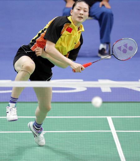 雅典奥运会羽毛球比赛拉开帷幕