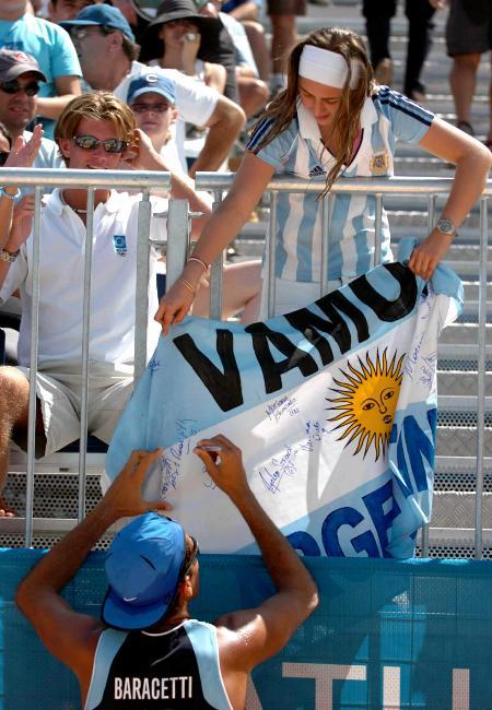 3 沙滩排球――阿根廷胜南非