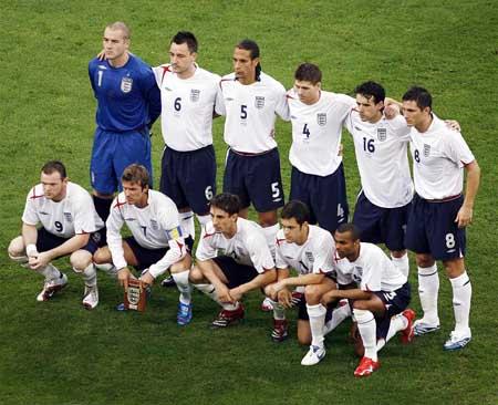 英国脚世界杯总体表现评分:最高三人兰帕德非最低