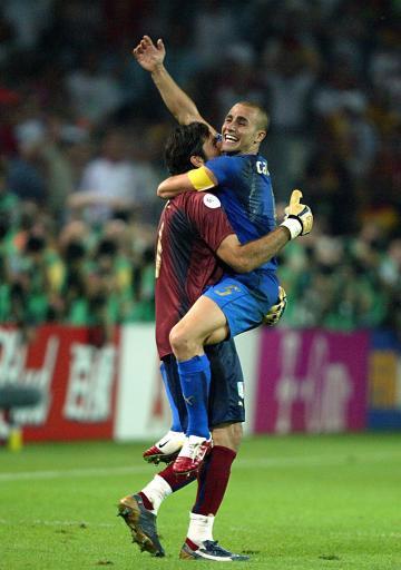 法媒体称意大利拥有三大王牌卡纳瓦罗远胜图拉姆