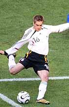 世界杯揭幕战第6分钟德国队拉姆精彩弧线球破门