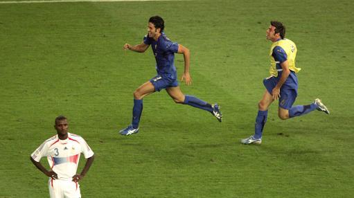 德媒体赞格罗索送给意大利队冠军叹息齐达内丧失理智