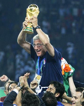 里皮承认意大利赢在上帝眷顾道出夺冠历程两大转折点