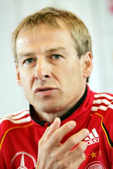 图文-世界杯32强主教练风采克林斯曼扬言主场夺冠
