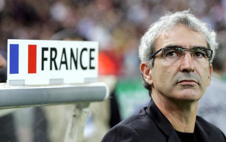 图文-世界杯32强主教练风采多梅内克引领法国雄鸡