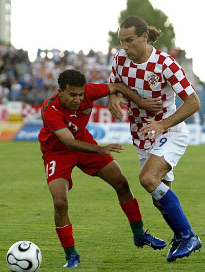 图文-[热身赛]克罗地亚2-2伊朗普尔绍勇不可挡
