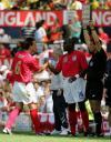 图文-[热身赛]英格兰6-0牙买加切尔西铁闸受伤下场
