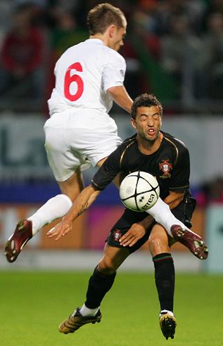 图文-[热身赛]葡萄牙3-0卢森堡这一脚可不象友谊赛