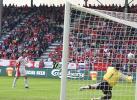 图文-[热身赛]国足1-4瑞士国足射门威胁对方球门