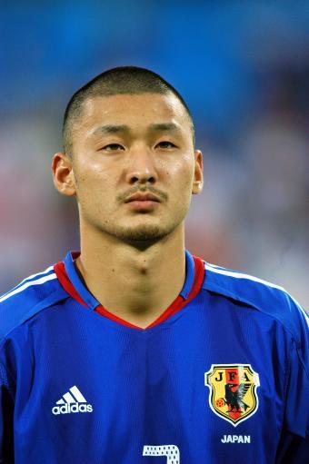 资料图-世界杯日本参赛球员一览后卫茂庭照幸