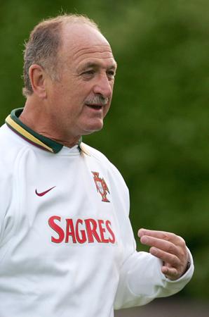 图文-葡萄牙备战世界杯斯科拉里:我的地盘听我的