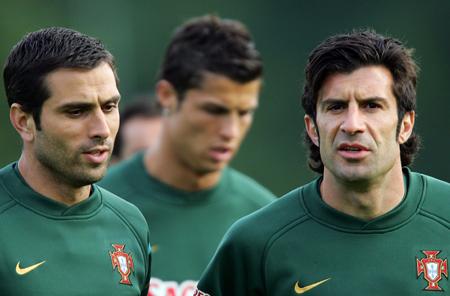 图文-葡萄牙积极备战世界杯黄金一代的最后希望