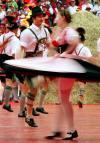 图文-2006德国世界杯开幕式民族舞蹈旋转激情