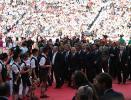 图文-新浪直击世界杯开幕式足坛官员抵达现场