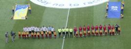 图文-[世界杯]德国4-2哥斯达黎加大战前的仪式