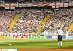 图文-[世界杯]英格兰vs巴拉圭贝克汉姆主罚任意球