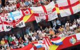 图文-[世界杯]英格兰1-0巴拉圭英球迷人多势众