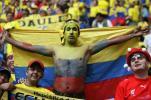 图文-[世界杯]波兰0-2厄瓜多尔忠诚的厄瓜多尔球迷