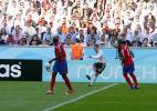 图文-新浪直击06世界杯揭幕战德国队拉姆起脚传中