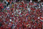 图文-新浪直击06世界杯揭幕战哥斯达黎加后盾