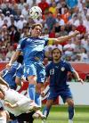 图文-[世界杯]英格兰vs巴拉圭加马拉头球乌龙