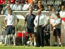 图文-[世界杯]英格兰1-0巴拉圭场边更焦急