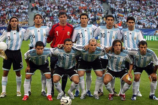 图文-[世界杯]阿根廷2-1科特迪瓦 阿根廷队首发
