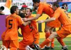 图文-[世界杯]荷兰VS科特迪瓦享受两球领先的喜悦