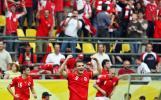 图文-[世界杯]多哥vs瑞士前锋弗雷激动万分