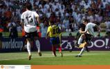 图文-[世界杯]厄瓜多尔VS德国克洛斯大力抽射