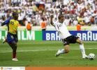 图文-[世界杯]厄瓜多尔VS德国波多尔斯基破门瞬间