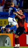 图文-[世界杯]意大利3-0乌克兰胜利的拥抱