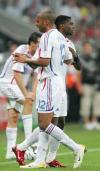 图文-[世界杯]葡萄牙0-1法国亨利被替换下场