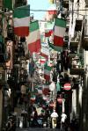图文-意大利国内球迷备战决赛意大利举国作准备