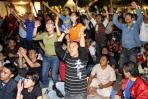 图文-印尼球迷心系世界杯决赛有人欢喜有人忧