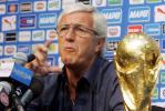 图文-意大利队举行发布会里皮:我们还有待提高