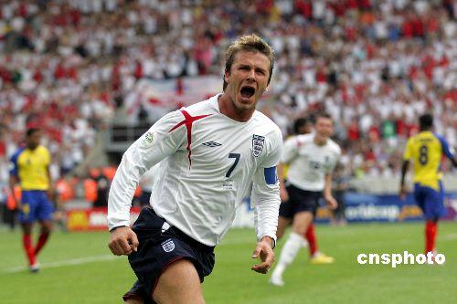 小贝辞去英格兰队长导致英足总损失2000万英镑