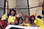 图文-[世界杯]波兰0-2厄瓜多尔幸福的球迷们