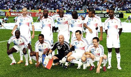 06年法国阵容输给_12年世界杯法国阵容