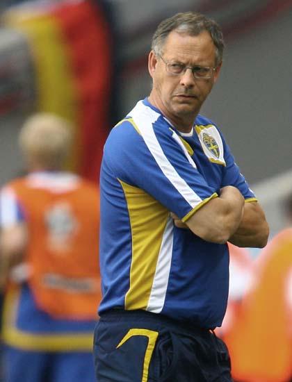 瑞典主帅决心2008年离开国家队执政9年4次征战大赛