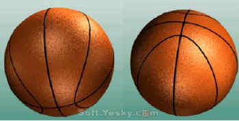 3DSMAX球类总动员:打造一个超酷立体篮球