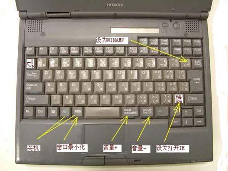 如何修改日本二手笔记本电脑键盘的定义