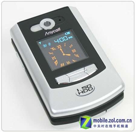 大肚能容百首歌三星微硬盘手机V5400试用