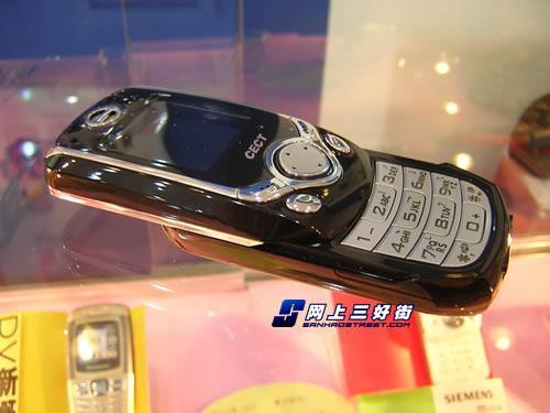 功能丰富CECT时尚滑盖手机T568低价上市(2)