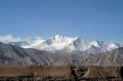 组图:珠峰复测沿途风情――巍巍昆仑
