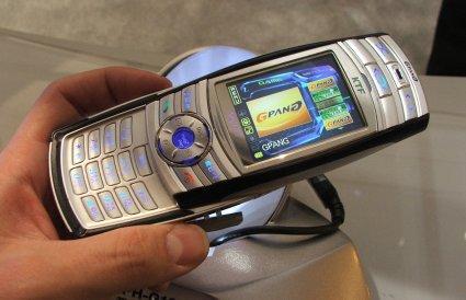 CTIA05:三星3D硬件加速手机图片曝光