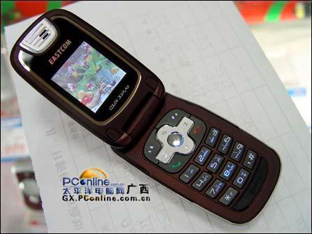 小巧防盗东信130万像素手机EG928上市(图)