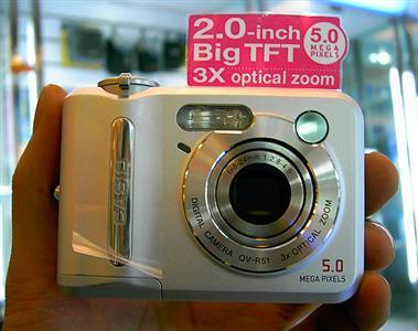 功能实用价格低廉超值学生数码相机导购